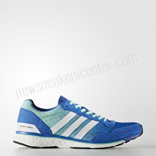 Adidas adizero Adios 3 Shoes - Blue At Unbeatable Price  - Adidas adizero Adios 3 Shoes Blue At Unbeatable Price-01-0