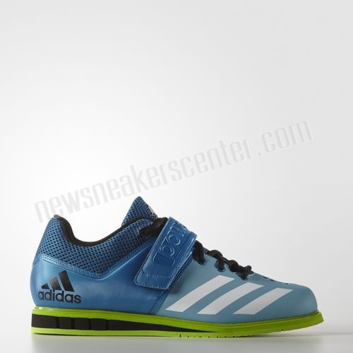 ADIDAS MEN POWERLIFT3 SHOES UNITY BLUE FOOTWEAR WHITE SEMI SOLAR GREEN With Unbeatable Price  - ADIDAS MEN POWERLIFT3 SHOES UNITY BLUE FOOTWEAR WHITE SEMI SOLAR GREEN With Unbeatable Price-01-0