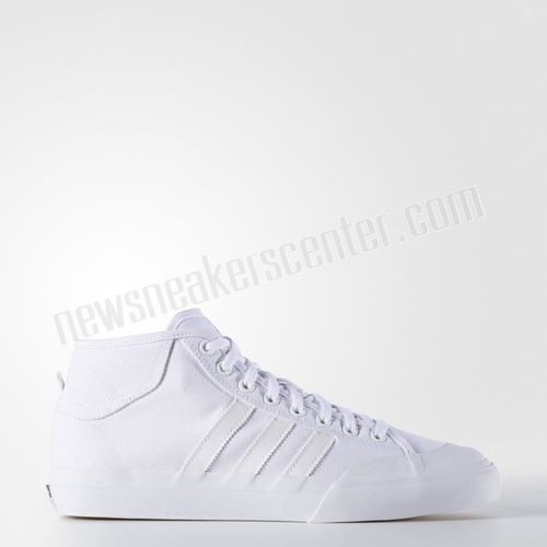 Adidas Matchcourt Mid Shoes - White At Reduced Price  - Adidas Matchcourt Mid Shoes White At Reduced Price-01-0