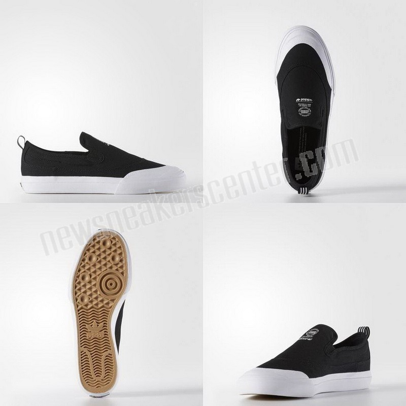 Adidas Matchcourt Slip-On Shoes - Black Quick Delivery  - Adidas Matchcourt Slip-On Shoes Black Quick Delivery-01-5