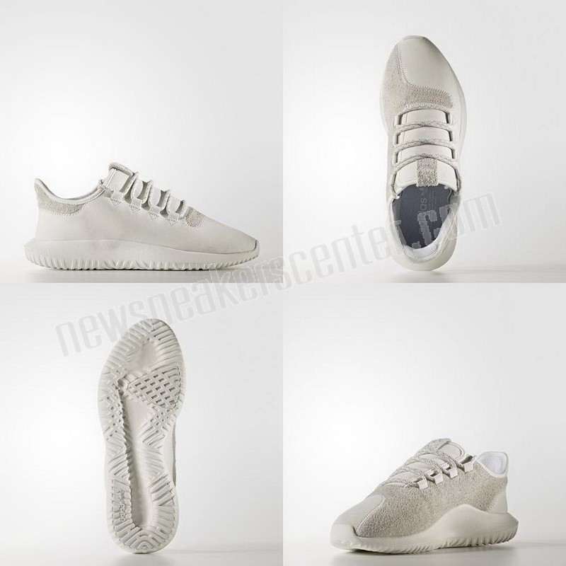 Adidas Mens Originals Tubular Shadow Trainers In White Of Good Quality  - Adidas Mens Originals Tubular Shadow Trainers In White Of Good Quality-01-5