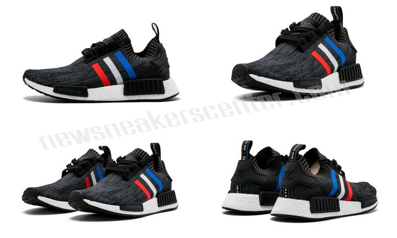 Adidas NMD_R1 PK Mens CBLACK/BLUE/RED/WHITE At a Discount Unpopularity  - Adidas NMD_R1 PK Mens CBLACK/BLUE/RED/WHITE At a Discount Unpopularity-01-5