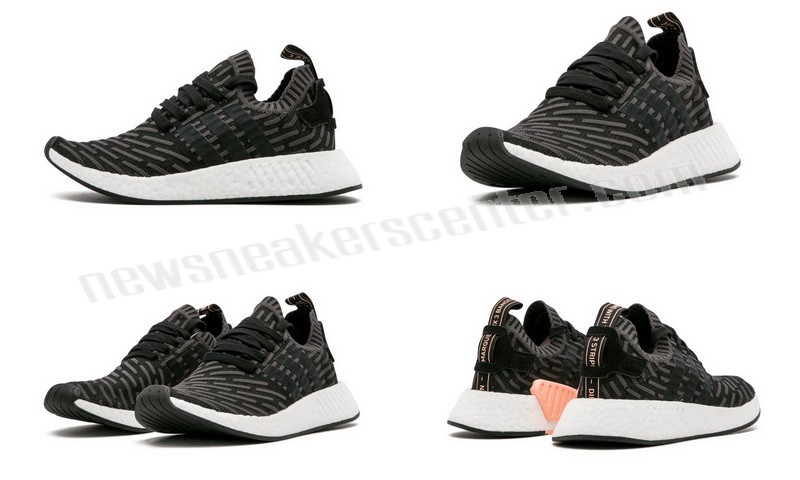 Adidas NMD_R2 PK Womens UTILITY BLACK/CBLACK/PINK With Half-Price  - Adidas NMD_R2 PK Womens UTILITY BLACK/CBLACK/PINK With Half-Price-01-5
