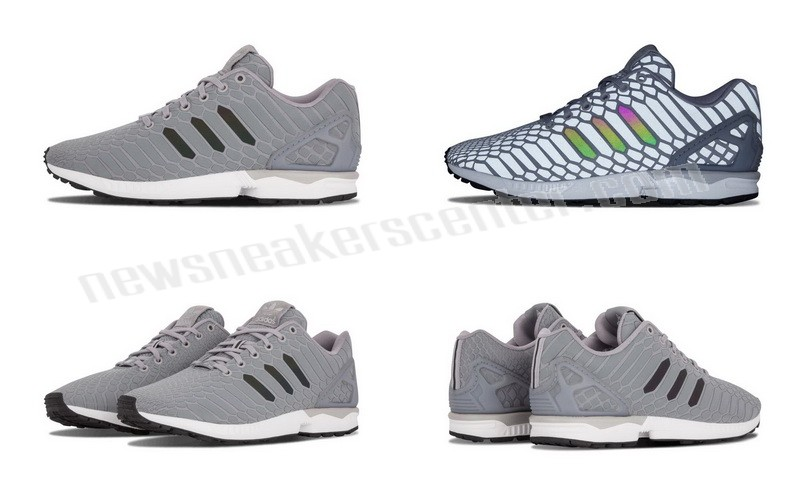 Adidas ZX Flux Mens 'Xeno' LTONIX/SUPCOL/FTWHT Issue At a Discount  - Adidas ZX Flux Mens 'Xeno' LTONIX/SUPCOL/FTWHT Issue At a Discount-01-4
