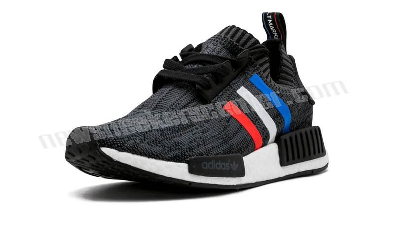Adidas NMD_R1 PK Mens CBLACK/BLUE/RED/WHITE At a Discount Unpopularity  - Adidas NMD_R1 PK Mens CBLACK/BLUE/RED/WHITE At a Discount Unpopularity-01-1