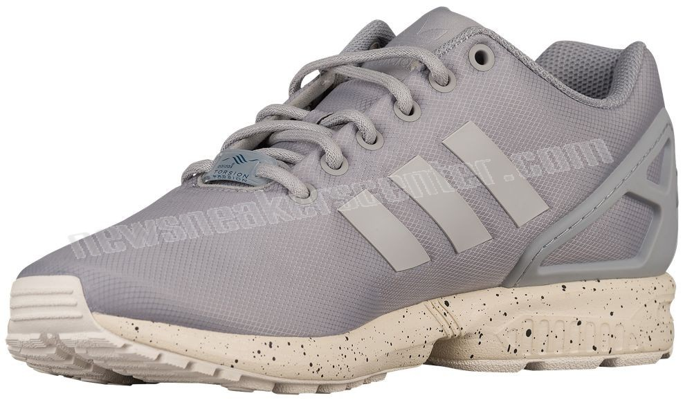 Adidas Originals ZX Flux Men's Clear Onix/Grey/Chalk White With Nice Price  - Adidas Originals ZX Flux Men's Clear Onix/Grey/Chalk White With Nice Price-01-1