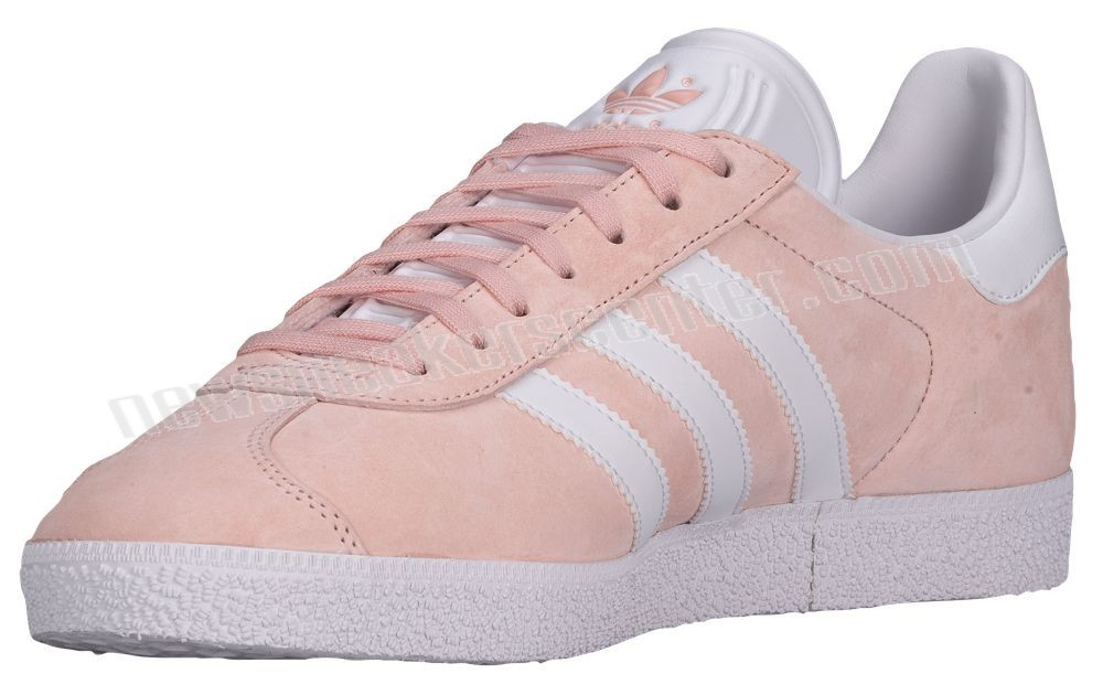 Adidas Originals Gazelle Men's Vapour Pink/White/Metallic Old Gold Issue At a Discount  - Adidas Originals Gazelle Men's Vapour Pink/White/Metallic Old Gold Issue At a Discount-01-1