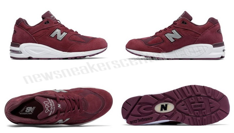 New Balance Mens0v2 Made in the USA Bringback Suede Burgundy with Silver On Sale  - New Balance Mens0v2 Made in the USA Bringback Suede Burgundy with Silver On Sale-01-5
