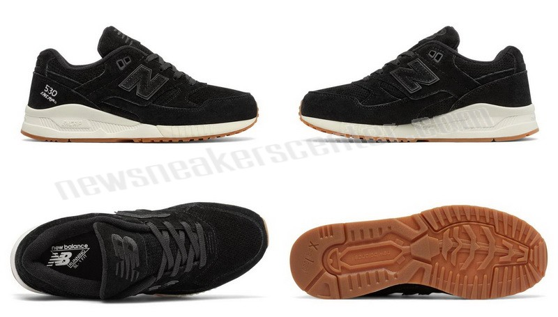 New Balance Womens Lux Suede Black With Quick Expedition  - New Balance Womens Lux Suede Black With Quick Expedition-01-5