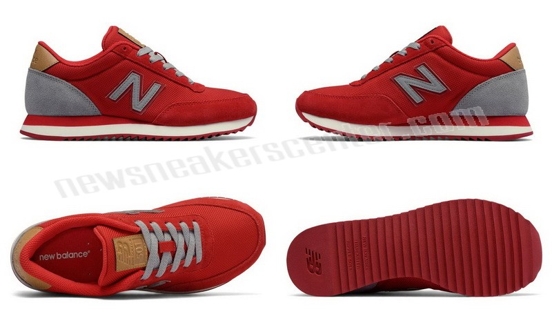 New Balance Womens Ripple Sole Red with Grey With Quick Delivery  - New Balance Womens Ripple Sole Red with Grey With Quick Delivery-01-5
