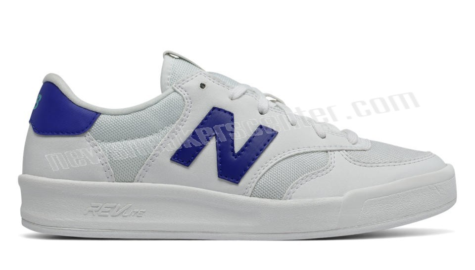 New Balance Womens White with UV Blue On promotion  - New Balance Womens White with UV Blue On promotion-01-0