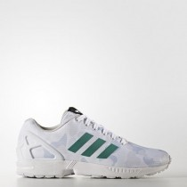 Adidas ZX Flux Mens Shoes White At Half-Price-20