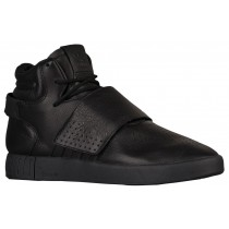 MEN'S ADIDAS ORIGINALS TUBULAR INVADER STRAP SHOES CORE BLACK/BLACK At Unbeatable Price-20
