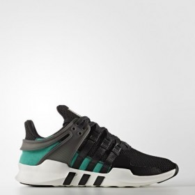 Adidas Originals EQT Support Adv Core Black/Sub Green's3/Vintage White5-St With Nice Model