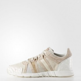 Adidas Women's Originals Equipment Racing Shoes Chalk White/Clear Brown/Off White At a Discount