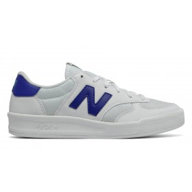 New Balance Womens White with UV Blue On promotion