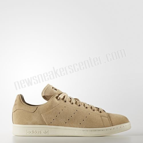 Adidas Originals Stan Smith Mens Trainers In Beige With Lower Price  - Adidas Originals Stan Smith Mens Trainers In Beige With Lower Price-01-0
