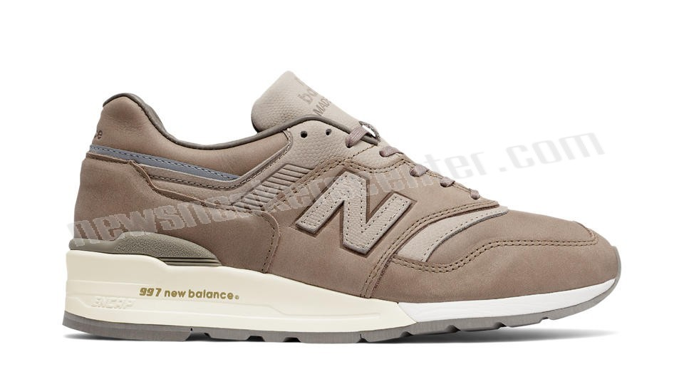 New Balance Mens Made in USA Beige with Grey With Quick Expedition  - New Balance Mens Made in USA Beige with Grey With Quick Expedition-31