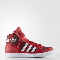 WOMEN'S ADIDAS ORIGINALS EXTABALL SHOES BOLD RED/RUNNING WHITE FTW 42% Off Sale-20