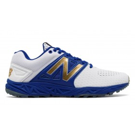 New Balance Mens Turf Playoff Pack Blue with White 58% Off